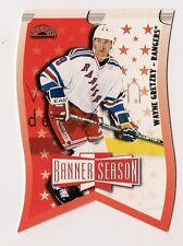 Wayne Gretzky 1997-98 Leaf Banner Season Card #3 of 24 Ltd Ed #3357/3500