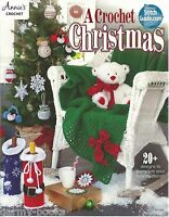 A Crochet Christmas Annie's Attic Instruction Patterns 2015 Ornaments Angel+