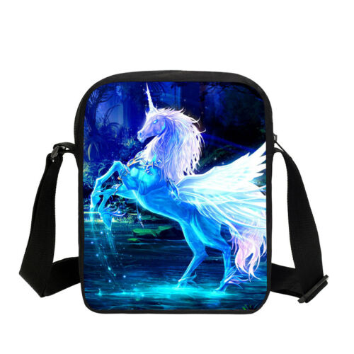 S//3 Purity Grace Unicorn Kid School Backpack Insulated Lunch Box Pencil Case Lot
