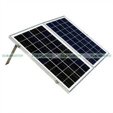 Suitcase 50W Poly Folding Foldable Solar Panel Kit  for 12V Off Grid Boat RV