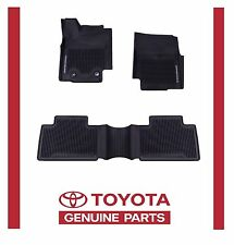2016 2017 TACOMA FLOOR MAT LINERS RUBBER ACCESS CAB AUTO TRAN TOYOTA OEM
