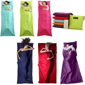 Ultra-Light-Adult-Sleep-Bag-Sack-Travel-Hiking-Camping-Sheet-Sleeping-Bag-Line