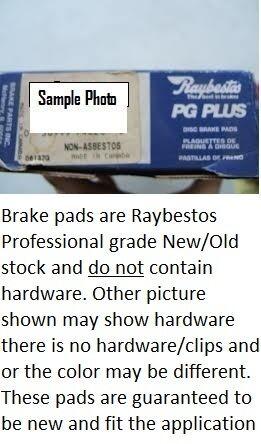 Disc Brake Pad Set-Element3; Ceramic Front Raybestos PGD363C