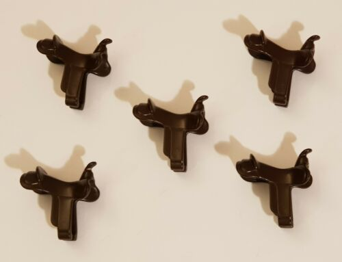 Playmobil 5 horse saddles
