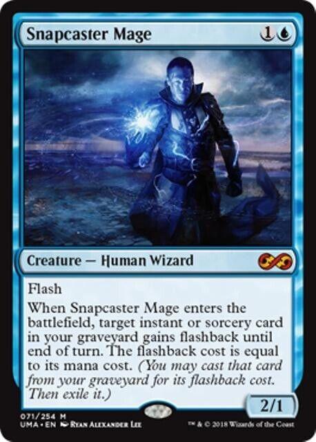 Snapcaser, el maestro Supremo mtg, la criatura azul, el mito del mago humano.