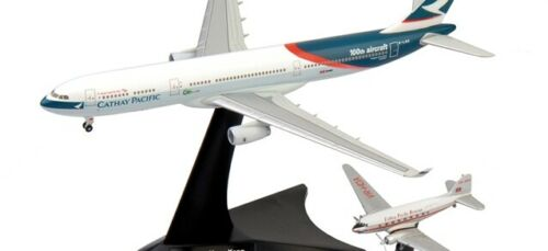 A 330-300 Cathay Pacific 1:400 Herpa 562089 Set DC-3
