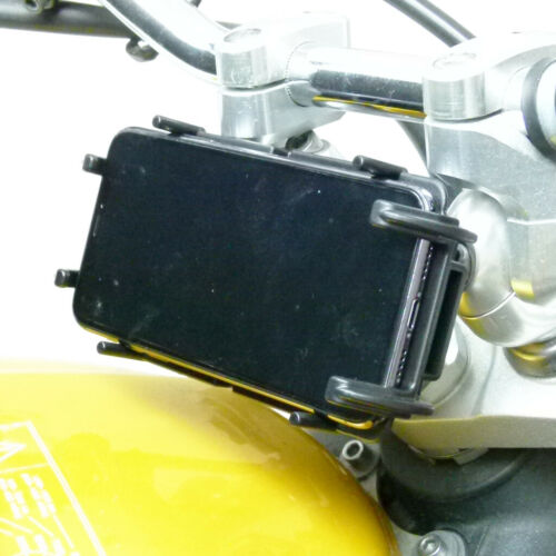 13.3-14.7mm MOTO GAMBO telefono MOUNT QUICK GRIP supporto per Samsung Galaxy S10e