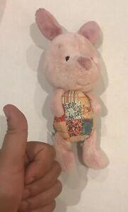 Hallmark-Disney-Piglet-Plush-Stuffed-Toy-Pooh-039-s-Friend-Condition-GOOD