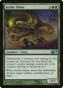 4x Acidic Slime M10 Core 2010 #165 MTG magic English NM/Unplay uncommon UC card