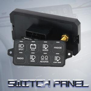 8-Switch Panel Power System 4x4 Wheeling Bazel Style