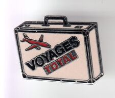 RARE PINS PIN'S .. AUTO CAR PETROLE OIL KEROSENE VOYAGES TOTAL AVION VALISE ~C6