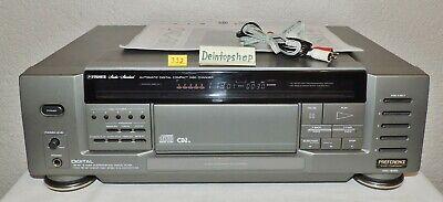 cinchkabel #332 Herzhaft 5-fach Cd-wechsler Fisher Dac-9050 Grau Mit Kabel remote-kabel