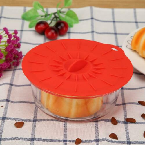 Silicone Anti-dust Leakproof Glass Cup Cover Coffee Tea Mug Suction Seal Lid Cap