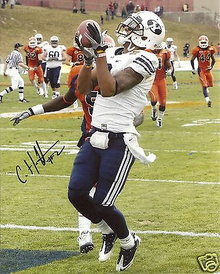 Football Autographs-original Rational Cody Hoffman Byu Cougars Signed 8x10 Photo W/coa Sturdy Construction