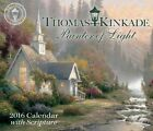 Thomas Kinkade Painter of Light 2016 Day-to-day Boxed Calendar With Scripture