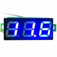 10 Pcs Mini Dc 0 100v 028 3 Wire Voltmeter 3 Digital Led Voltage Panel Meter