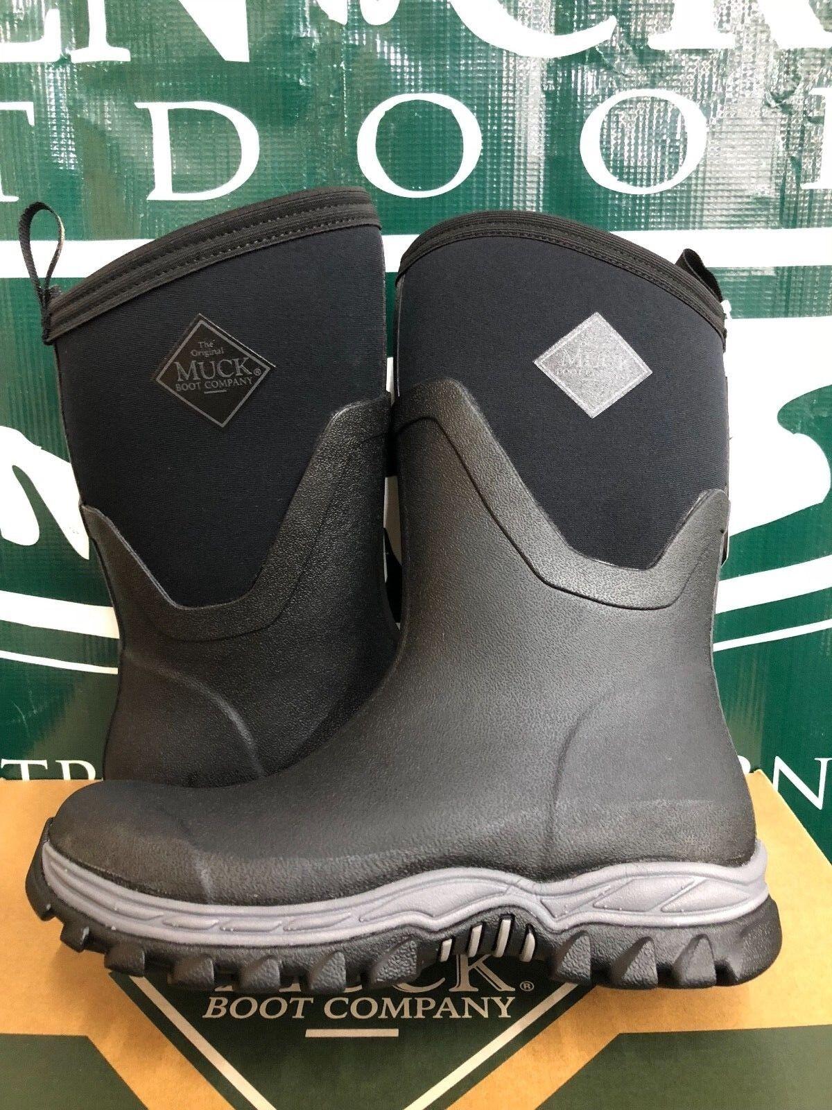 Muck Boot Co. Arctic Sport Sizes II Mid Black Women Sizes Sport AS2M-000 BRAND NEW f3b1e6