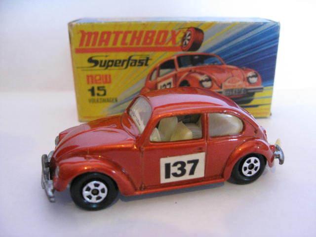 1968 Matchbox Lesney Superfast Number 15 Volkswagen Beetle1500.