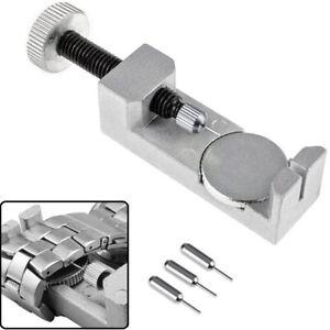 Montre-Lien-Dissolvant-Outils-Bracelet-Bande-Reglable-Reparation-Kit-Avec-3-Pins