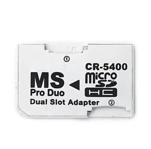 Micro-SD-TF-to-Memory-Stick-MS-Pro-Duo-Adapter-CR-5400-For-PSP-Card
