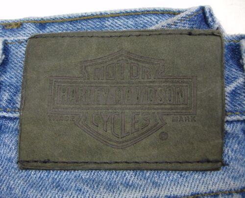 Blue L 40 Jeans Davidson Motos L Harley D Denim 32 w6ZqBaxA