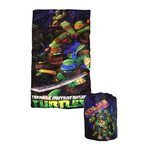 Details About Camping Slumber Sleeping Bag Backpack Tmnt Ninja Turtle Green Age 3 New