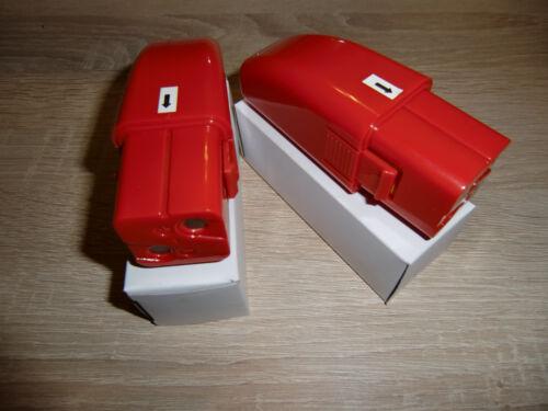 Swivel Sweeper 2 Stück Ersatz Power Akku`s Rot mit 1200 mAh Akku Besen Batterie