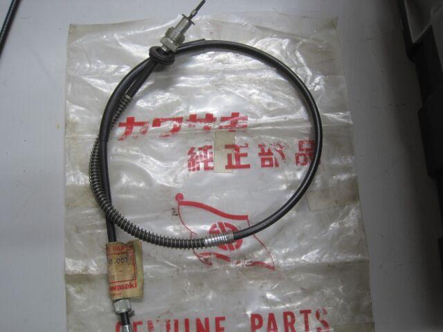 KAWASAKI NOS TACHOMETER CABLE H1 KH500 54018-007