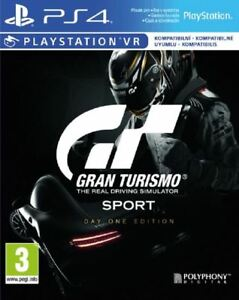 gran turismo sport day 1 edition ps4 foreign cover uk game new and sealed 711719832652 ebay. Black Bedroom Furniture Sets. Home Design Ideas