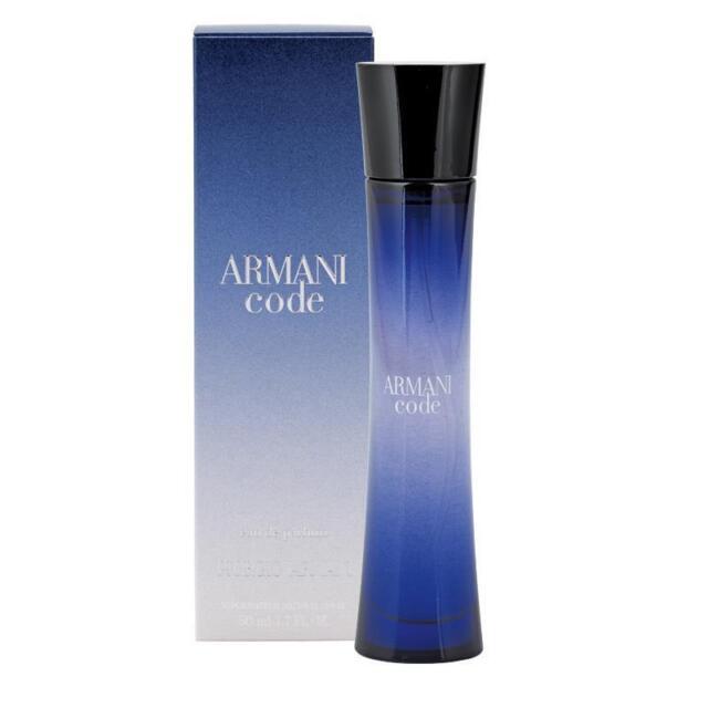 ARMANI CODE GIORGIO ARMANI 50ML EAU DE PARFUM WOMEN NEW SEALED BOX.