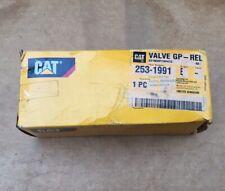 Caterpillar Nos Oem Relief Valve 253 1991 Cat Factory Parts 2531991