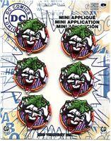 The Joker Face 6 Mini Iron-on Patch Set Free Shipping -c Pdc132s Dc Batman