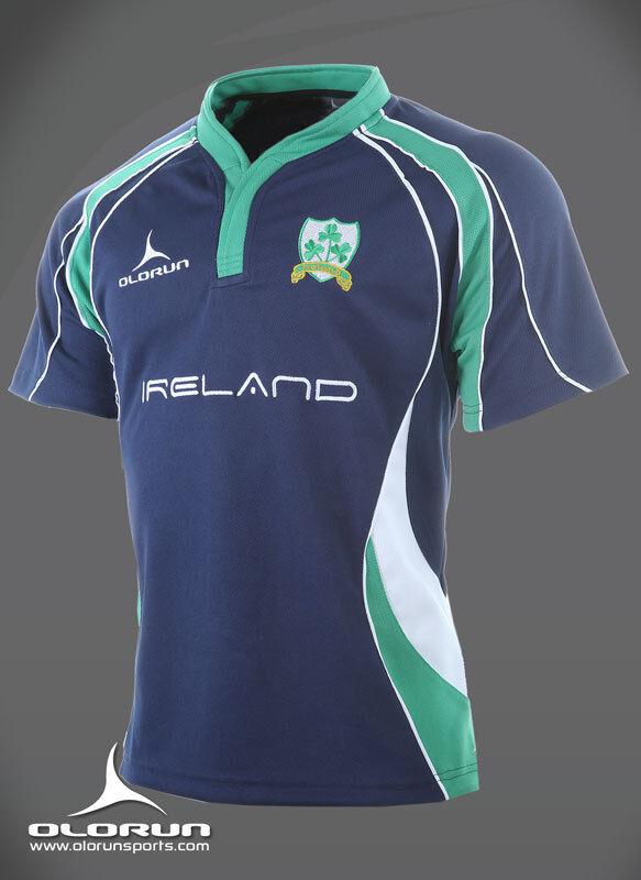 Irish Rugby Supporters Shirt (blueE) S-XXXXL