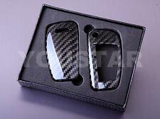 AUDI GENUINE CARBON FIBRE KEY FOB CASE A1 A2 A3 A4 A5 A6 A7 A8 S4 S6 S8 Q3 5 7