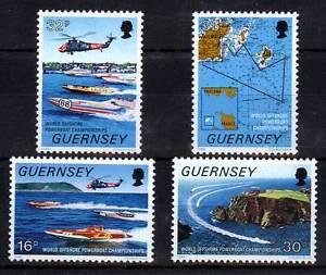 103762/guernesey 1988-mi 426/9 - Motorbotrennen - **-afficher Le Titre D'origine