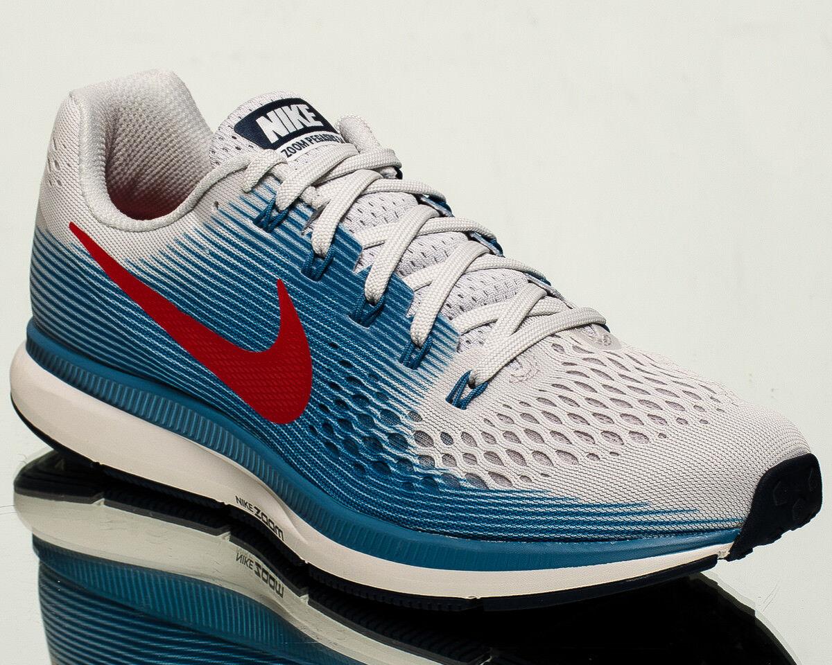 Nike NEW Air Zoom Pegasus 34 Hommes running run Baskets NEW Nike vast gris rouge 880555-016 d19f93
