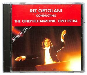 EBOND Riz Ortolani - Conducting The cinephilharmonic orchestra  CD CD032110