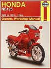 Honda NS125 (1986-1993) Owners Workshop Manual by Penelope A. Cox (Paperback, 1995)