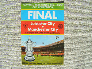 FA Cup Final Program Leicester City v Manchester City played at Wembley 26469 - Ringwood, Hampshire, United Kingdom - FA Cup Final Program Leicester City v Manchester City played at Wembley 26469 - Ringwood, Hampshire, United Kingdom