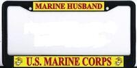 Us Marine Corps Husband Black Metal Frame