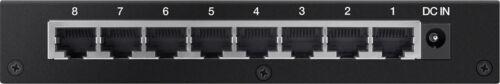 8-Port Gigabit Ethernet Switch Linksys Black