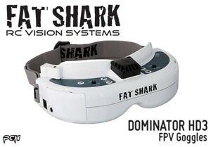 FATSHARK DOMINATOR HD3 FPV Drone Racing Goggles FSV1076