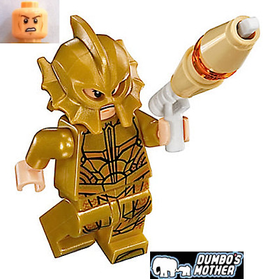 Lego Atlantean Guard 76085 Angry /& Scared Expression Minifigures Lot of 2