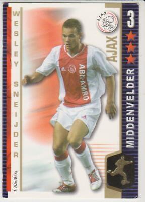 Mente Abierta All Stars Tcg 2004/2005 Trading Card Wesley Sneijder Ajax Amsterdam