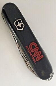 Rare Couteau Swiss Victorinox CNN