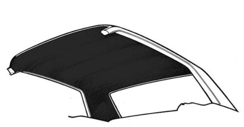 New 1965-1968 Mustang Headliner Coupe Hardtop Black Moonskin Grain Free Shipping