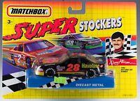 Matchbox Super Stockers Davey Allison No. 28 1992 MOC