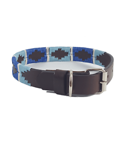 db1c22a90a66 Image is loading 034-Elsa-034-Polo-Leather-Dog-Collar-Width-