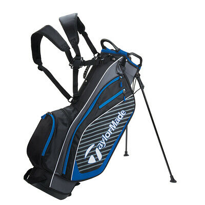 Taylormade Pro 6 0 Carry Stand Golf Bag Black Charcoal