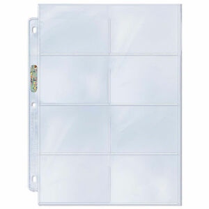 Ultra-Pro-Platinum-8-Pocket-2-75-034-x-3-5-034-Pages-50-count
